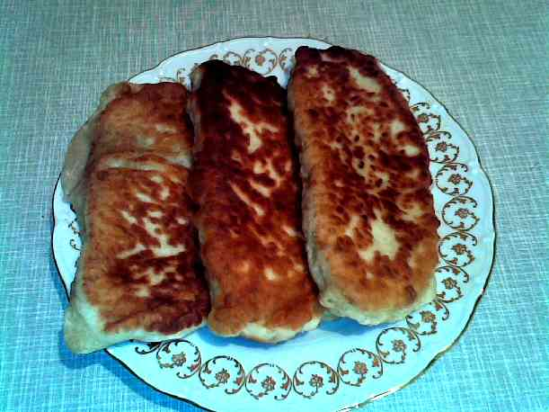 Тесто для узбекских чебуреков